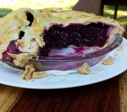 Blueberry Pie, from Make It Like a Man!