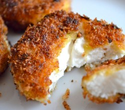 """Fried Goat Cheese,"" from Rachel Schultz, via Make It Like a Man!"