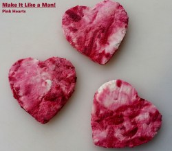 Pink Goat Cheese Hearts, via Make It Like a Man!
