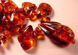 """Red Baltic Amber,"" from Cochise College, via Make It Like a Man! Caramel"