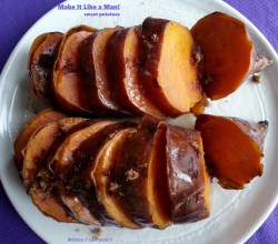 "Click the image to find the recipe for ""Sweet Potatoes,"" from Make It Like a Man! Chrismas Dinner Menu"