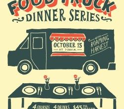 """Food Truck Dinner Series,"" from Jordan Dale Young, via Make It Like a Man!"