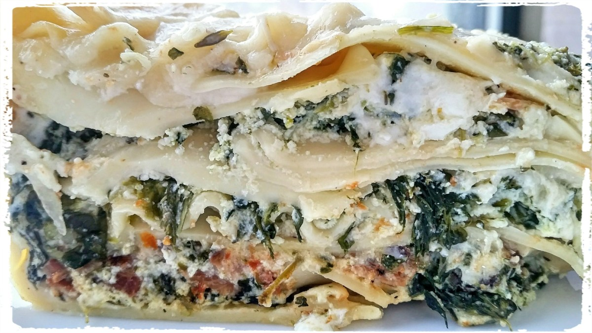 """""""Spinach-Herb Lasagna,"""" from Make It Like a Man!"""
