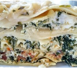 """Spinach-Herb Lasagna,"" from Make It Like a Man!"