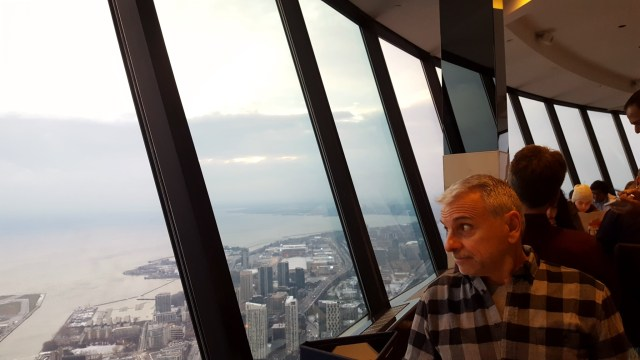 """360 Restaurant CN Tower,"" from Make It Like a Man!"