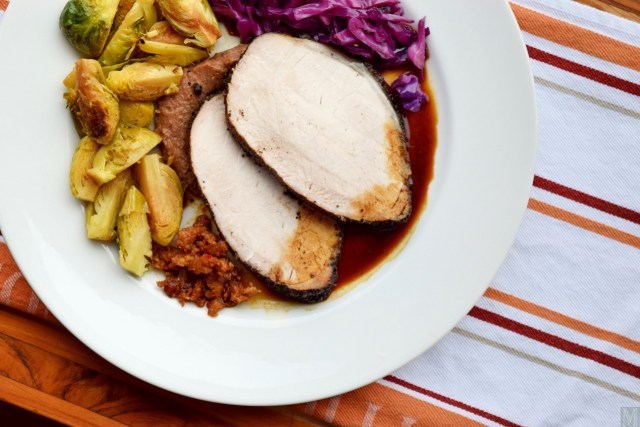 """Coffee-Crusted Pork Roast,"" from Make It Like a Man!"