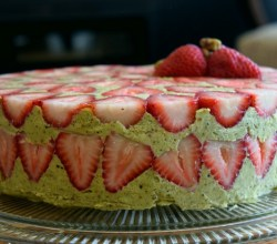 """Fraisier Cake,"" from Make It Like a Man!"