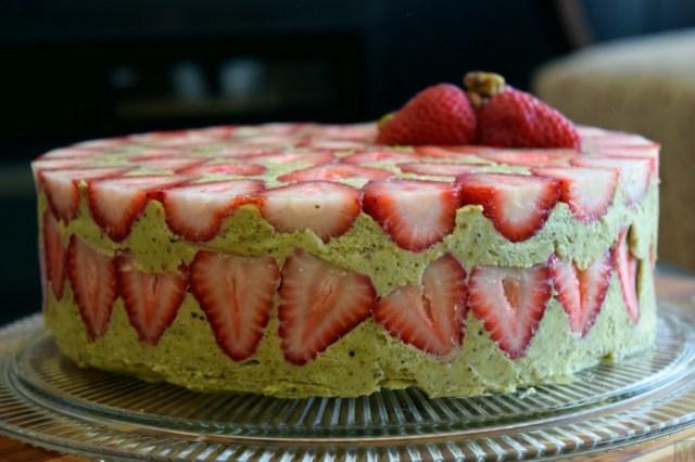 """""""Fraisier Cake,"""" from Make It Like a Man!"""