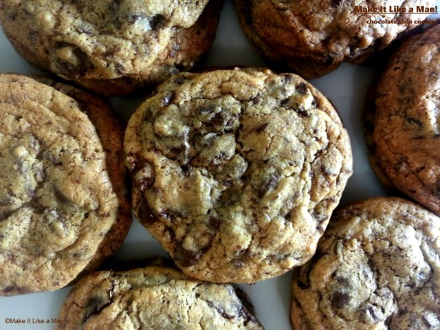 """""""Chocolate Chip Cookies,"""" from Make It Like a Man!"""