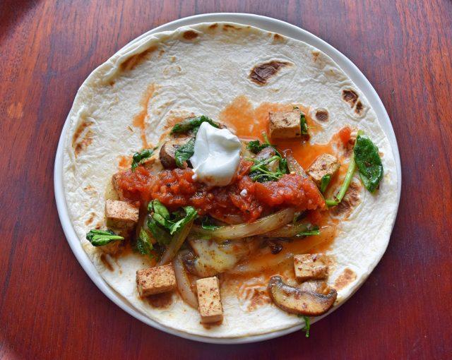 """Breakfast Taco,"" from Make It Like a Man! Homemade Flour Tortillas"
