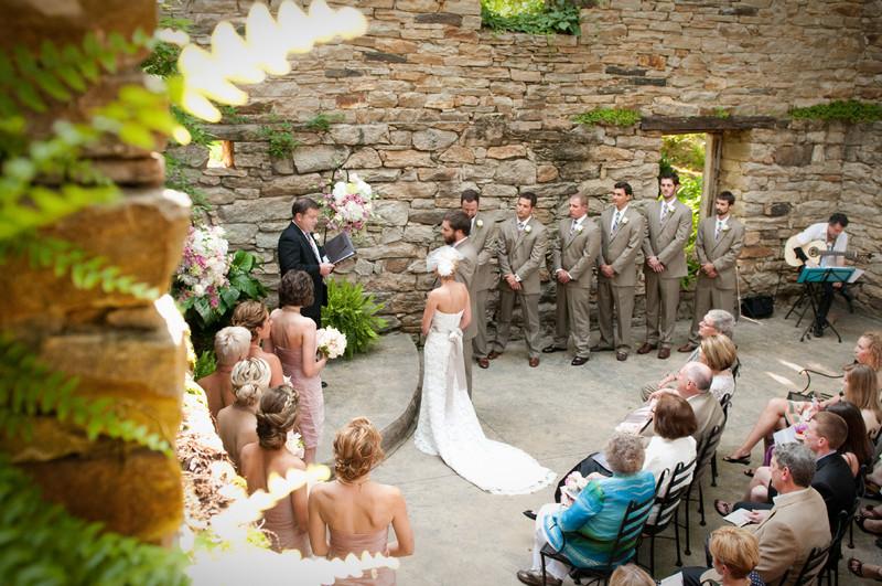 Wedding Venue in Stone Mill Ruins