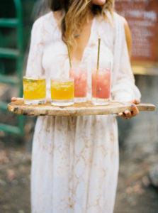 Wedding Planner Colorful Drinks