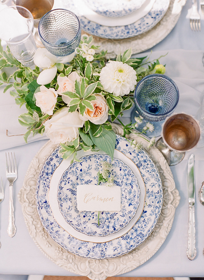 Wedding Planner Table Setting