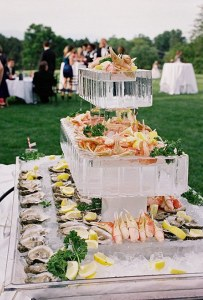 catering food tower