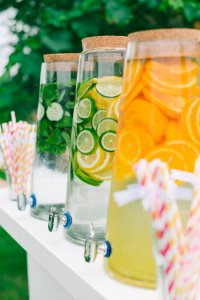 wedding catering drinks