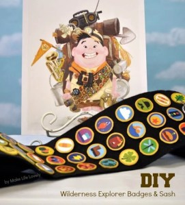 How to Make Disney UP Wilderness Explorer Badges