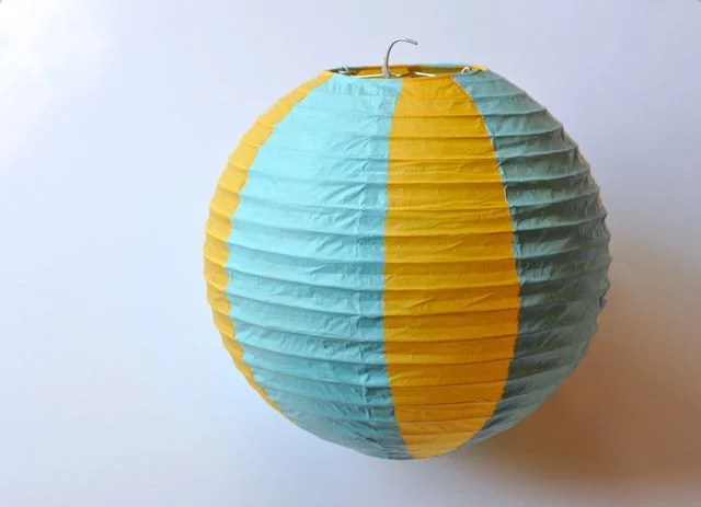 Paint the paper lantern