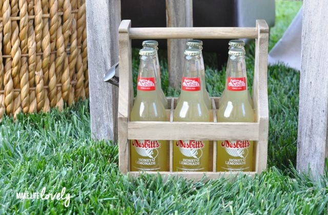 Glamping Drink Ideas