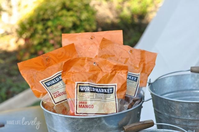 Glamping Food Ideas with World Market