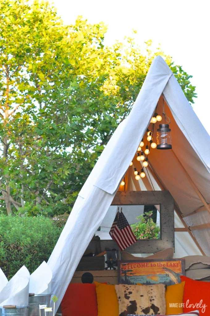 Glamping Ideas | by Make Life Lovely