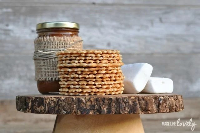 Gourmet S'mores Ingredients | by Make Life Lovely