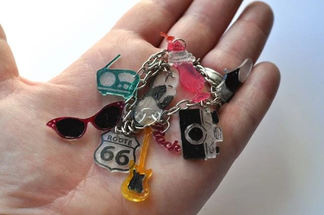Shrinky Dinks Shrink Plastic Charms