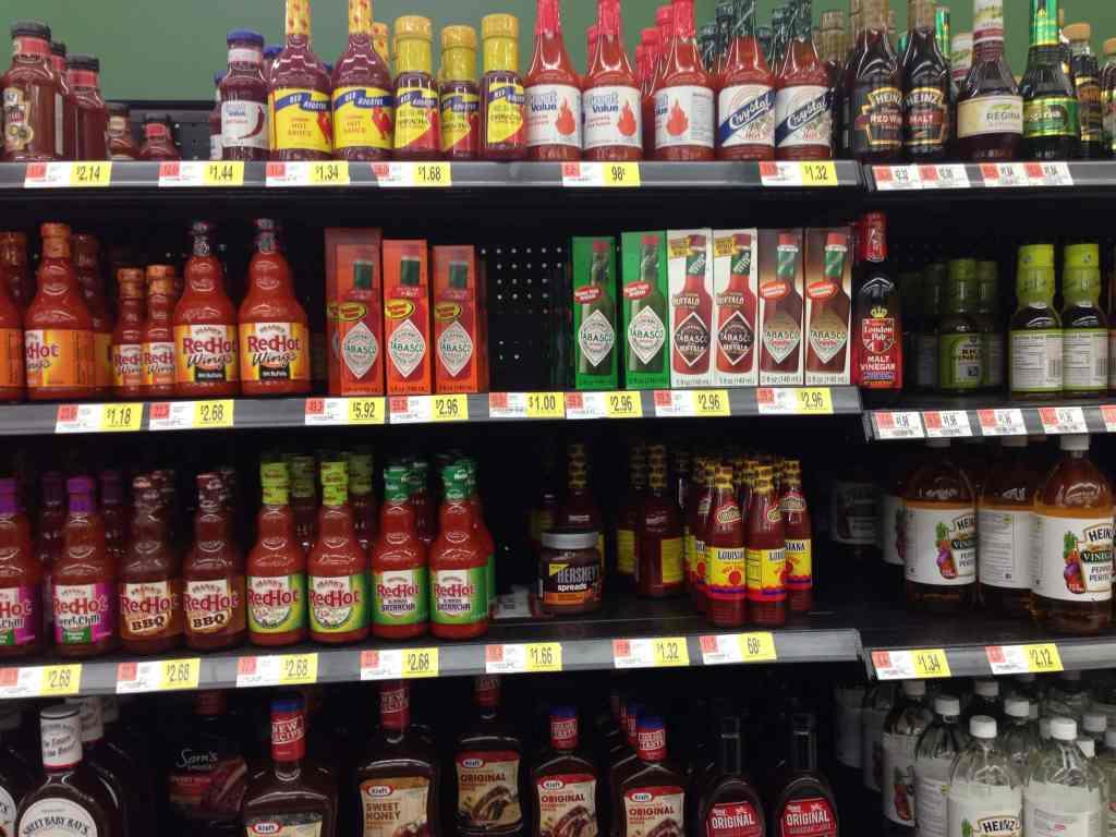 Tabasco Sauce at Walmart