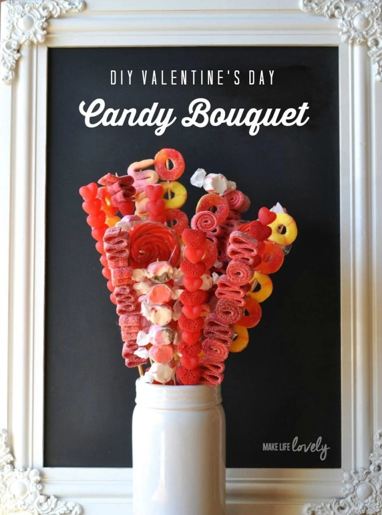 Candy Bouquet DIY
