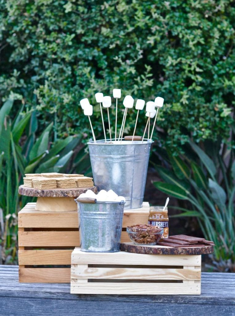 S'mores Bar Ideas