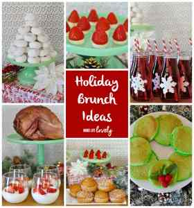 Holiday Brunch and Pancake Wreath Recipe