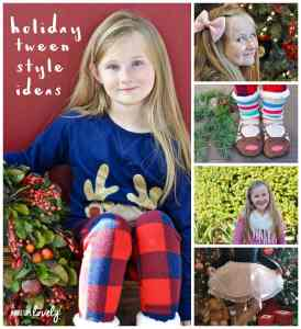3 Holiday Tween Styles for Every Occasion