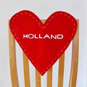 Valentine's Day Chair Backer Heart DIY