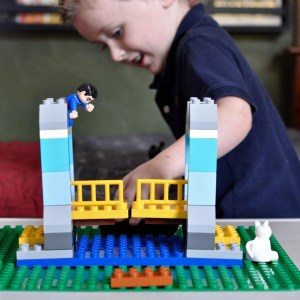DIY LEGO Table for Kids