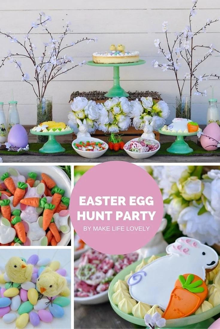 Easter Egg Hunt Party by Make Life Lovely