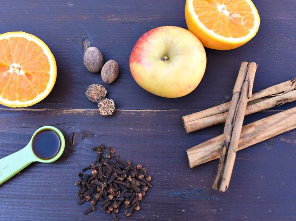Natural Stovetop Potpourri Recipe for Fall. SO easy and makes your house smell AMAZING!