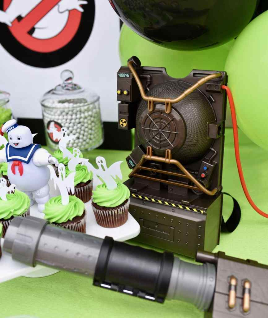 Proton pack at a Ghostbusters party