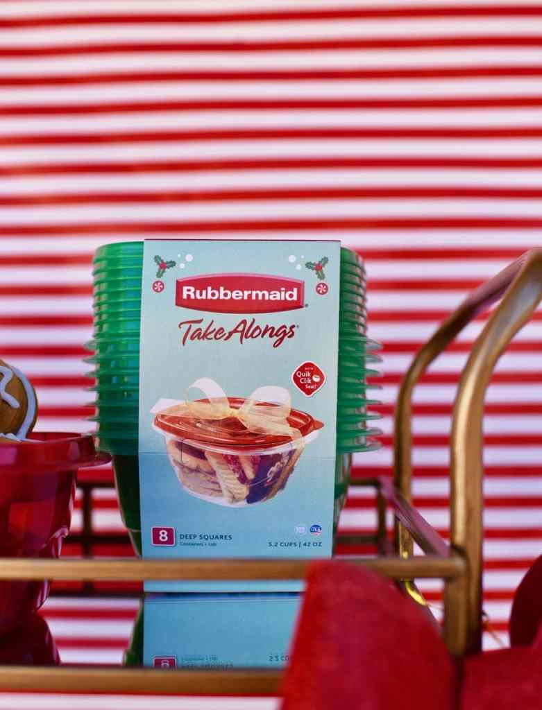 Rubbermaid TakeAlongs at a cookie exchange party