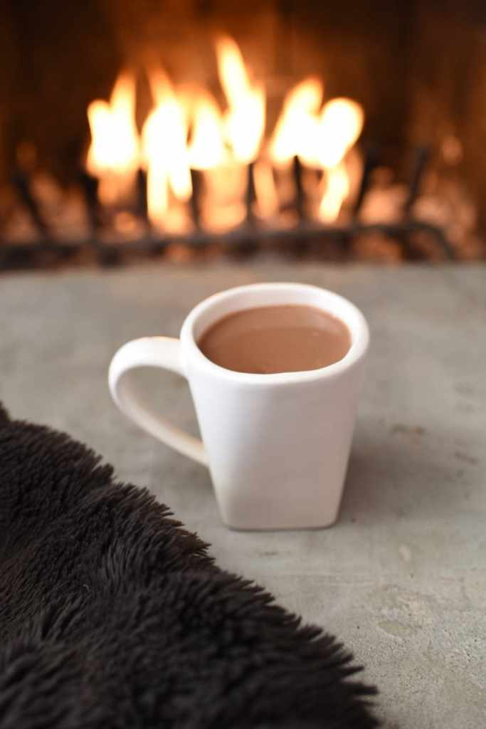 Coconut hot chocolate recipe