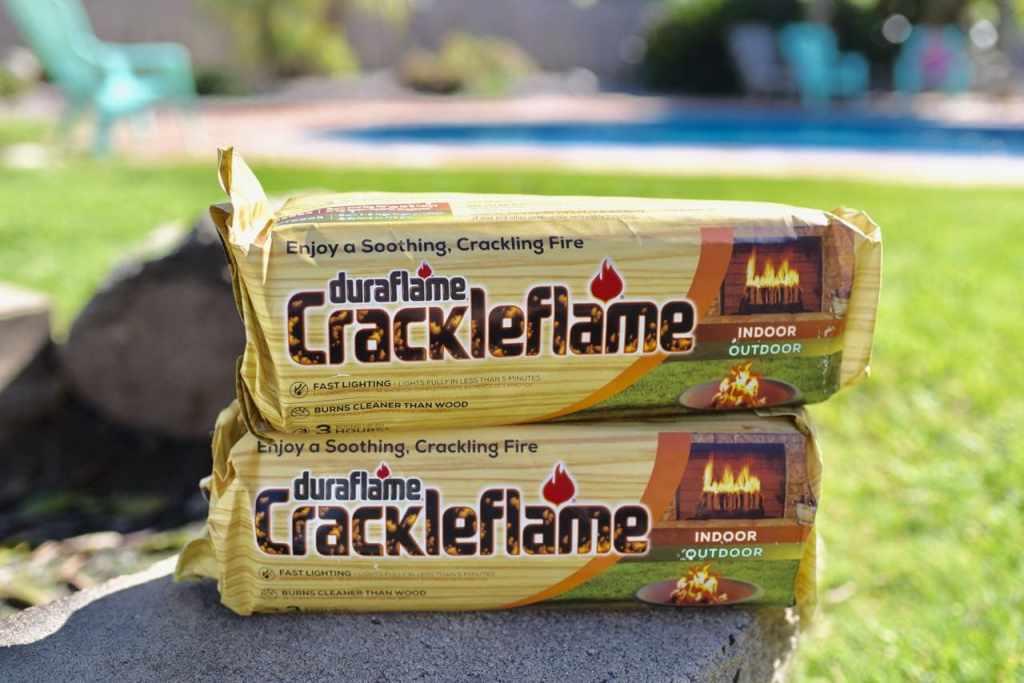 Duraflame Crackleflame fire logs