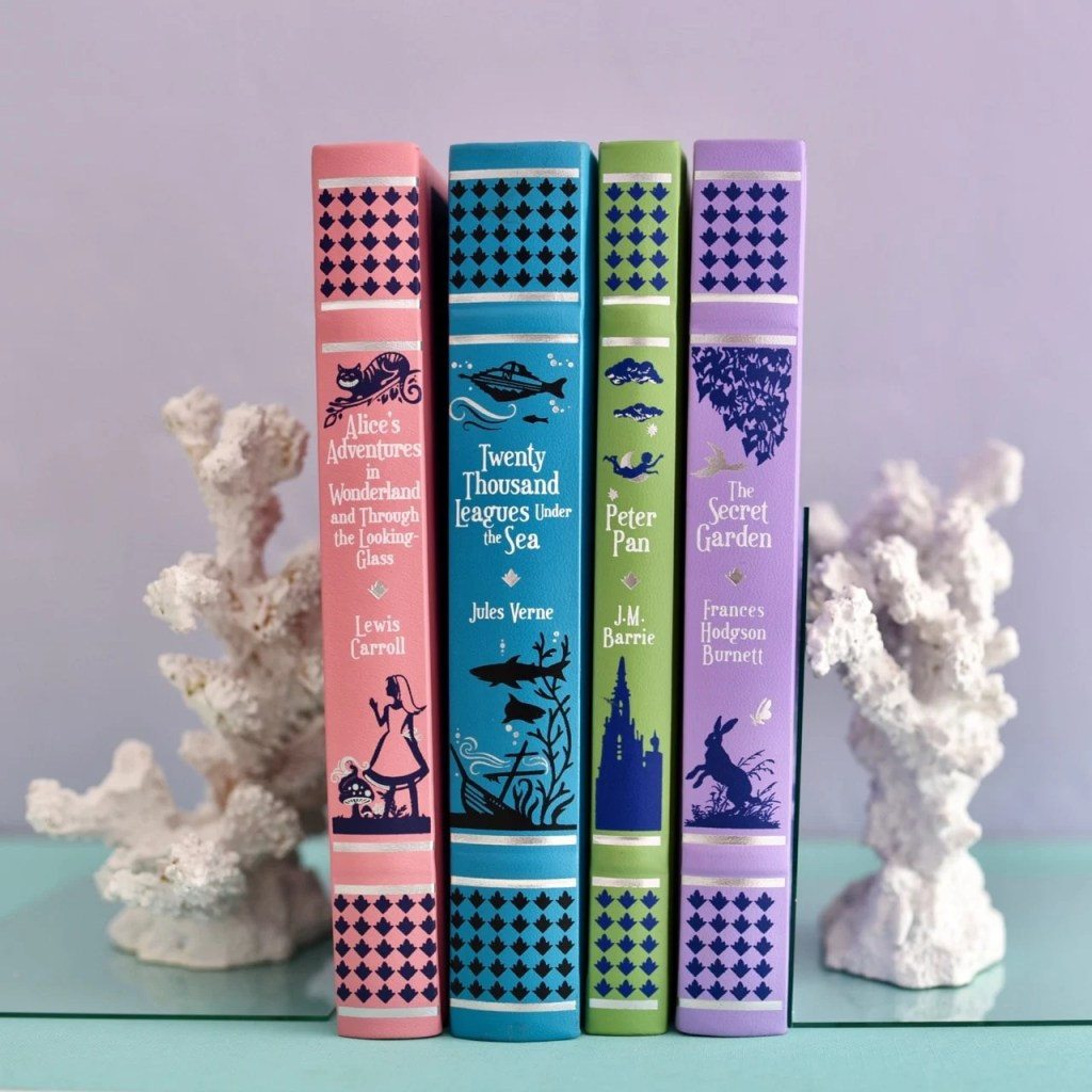 DIY coral bookends made from faux coral