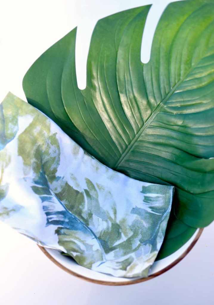 How to make a tropical Mother's Day gift basket