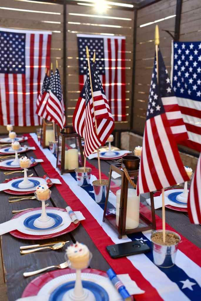 4th of July Table Setting Tips that Will Wow Guests - Make Life Lovely