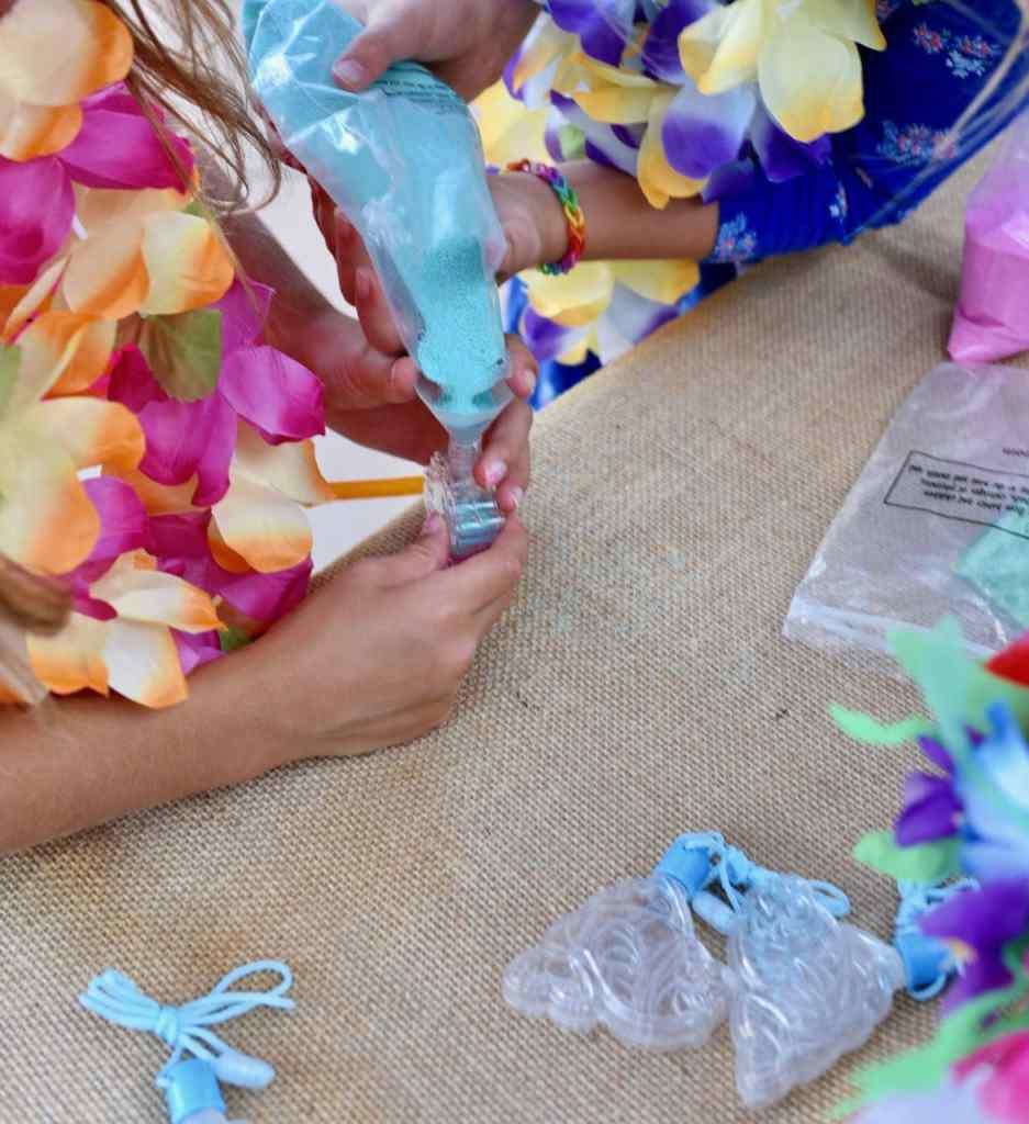 Moana party craft activity