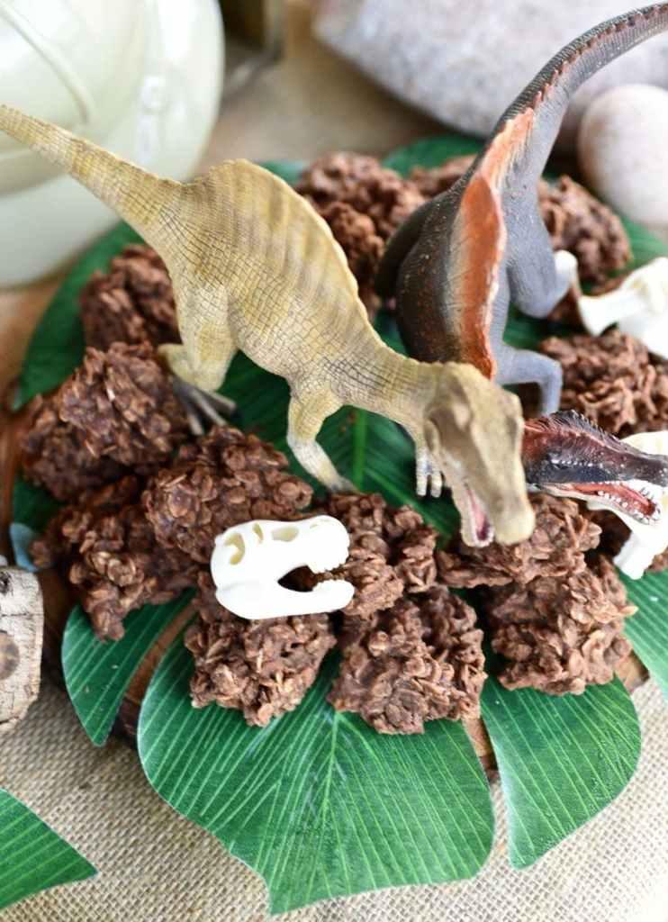 Dinosaur droppings cookies from chocolate no bake cookies