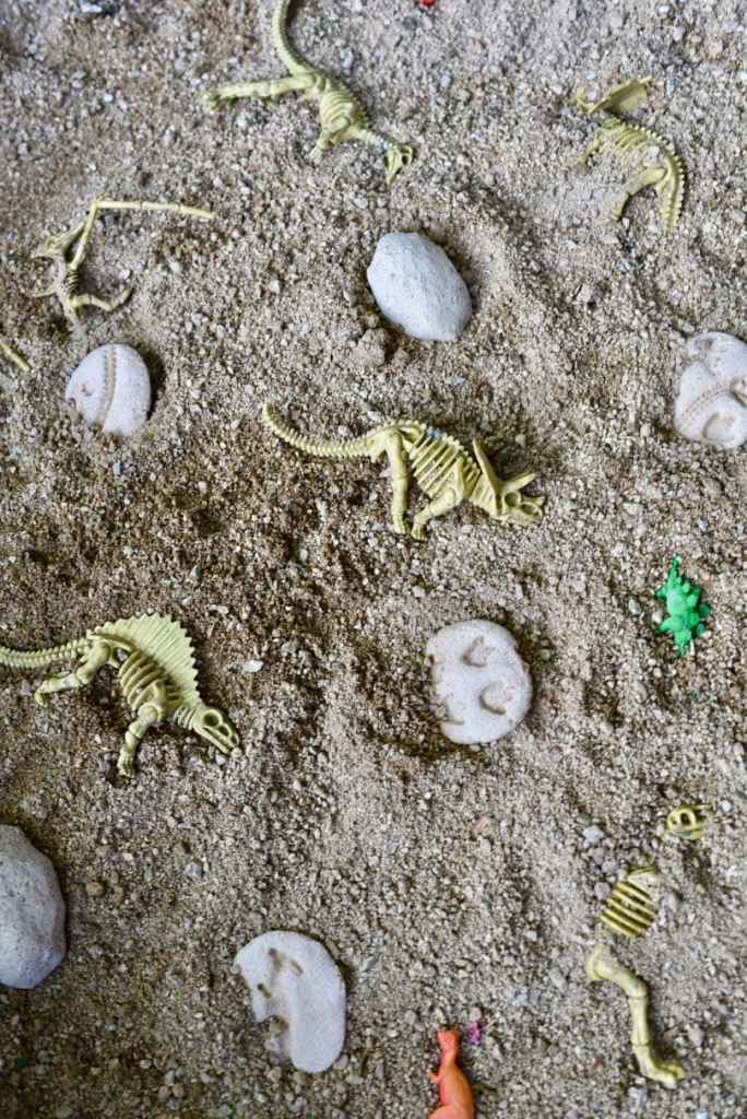 How to create a DIY dinosaur dig activity for kids