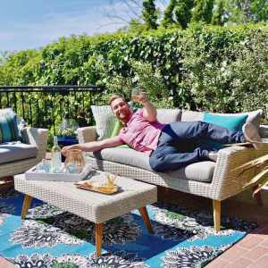 Backyard Makeover + Photo Shoot with *NSYNC's Lance Bass… Eeek!