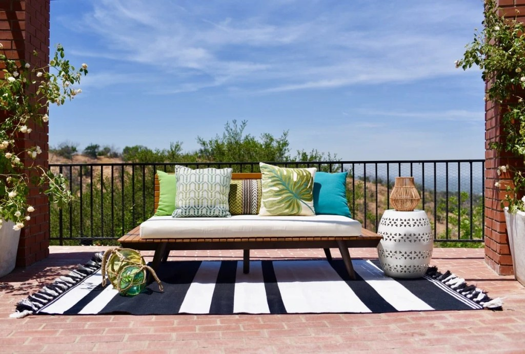 World Market backyard makeover for summer Lance Bass Nsync