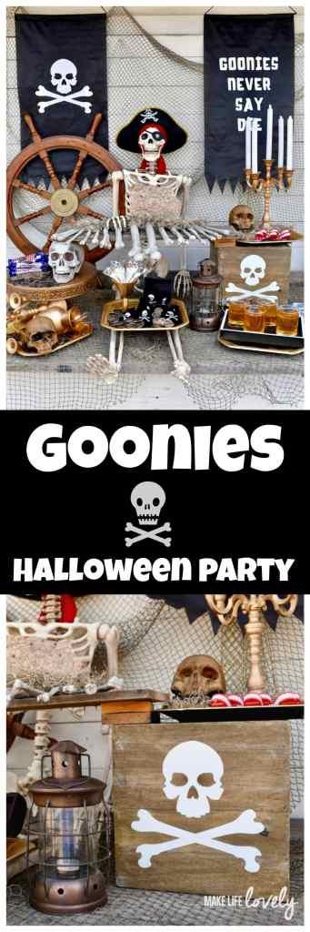 Goonies Party for Halloween