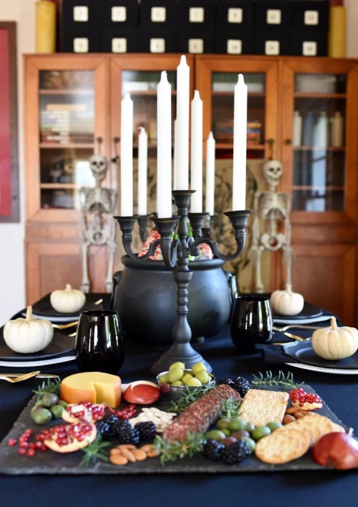 Gothic Halloween Dinner Party