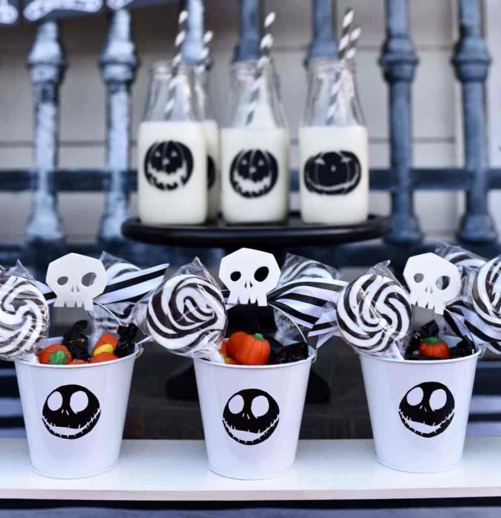 Diy Nightmare Before Christmas Party Decorations
